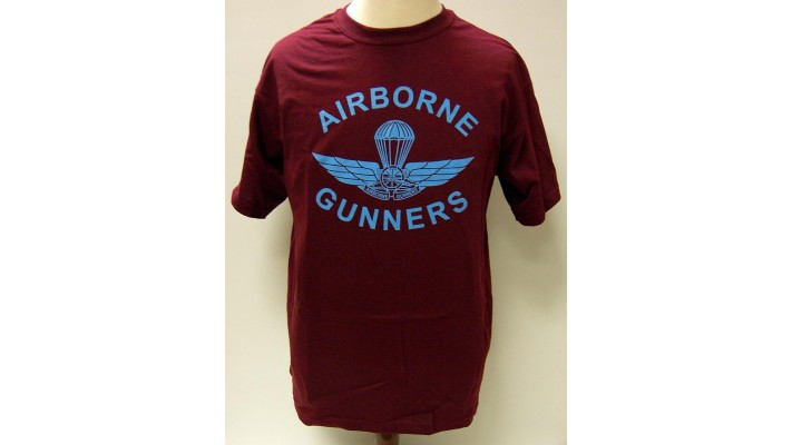 Airborne T-Shirt with ''Gunners'' logo
