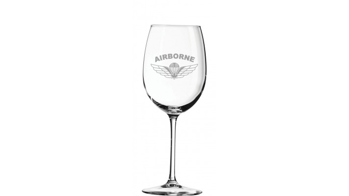 ''Connesseur'' (16OZ) Wine Glass- Parawing Logo