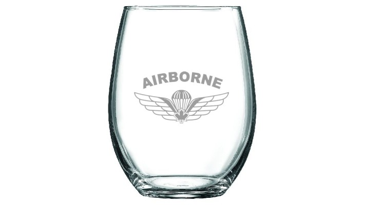 ''Chef et Sommelier'' wine glass 14 oz- Parawing logo
