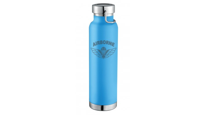 Bottle of Water (22 OZ) with the airborne ''Parawing'' logo