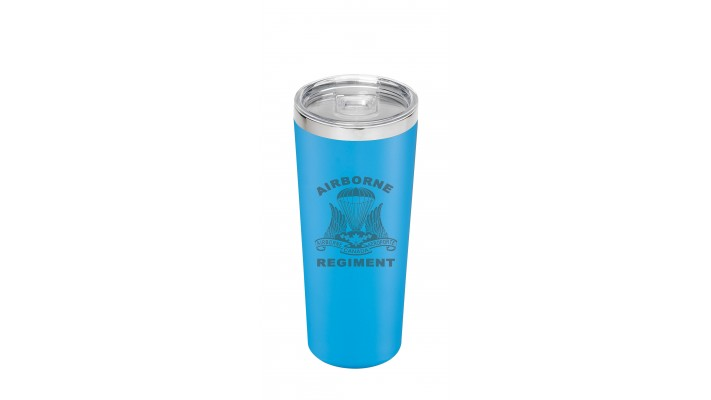 22 Oz cup with the Airborne '' Regiment'' logo