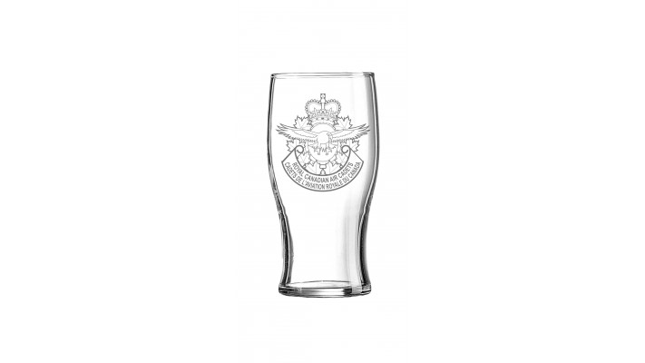 Beer glass with the Royal Canadian Air Cadets logo