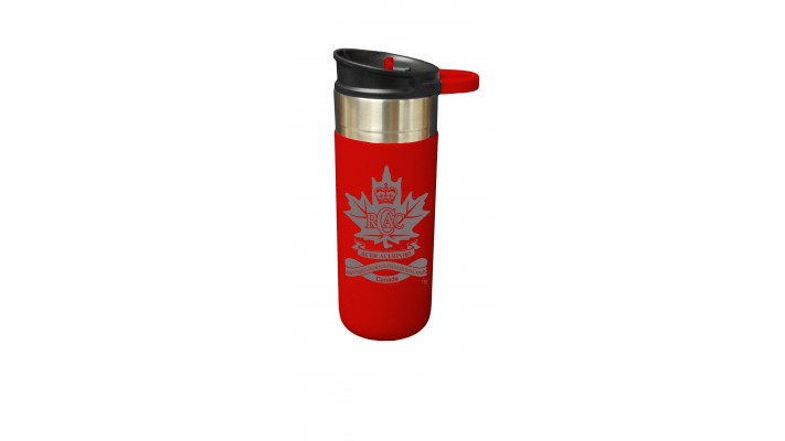 18 Oz Waterproof Cup with the Royal Canadian Army Cadets League logo