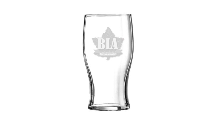 Beer Glass ''Bravery in Arms'' -19oz