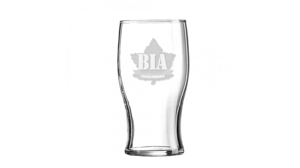 Beer Glass with the ''Brothers in Arms'' logo
