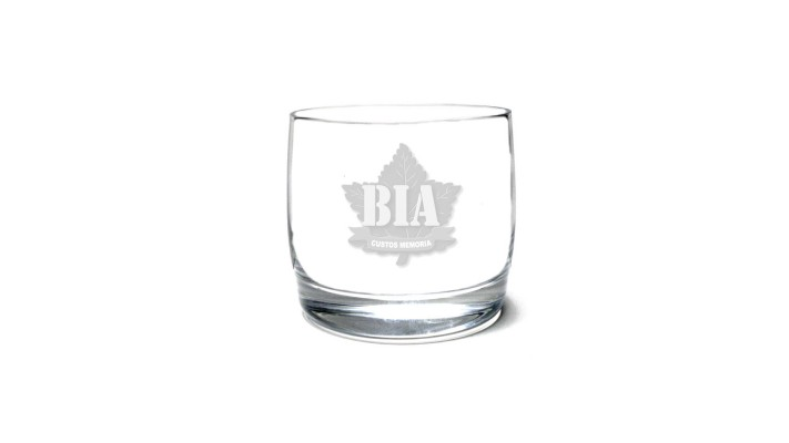 Whisky Glass with the Brothers in Arms logo