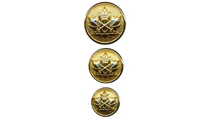 CIC Branch army buttons- per unit