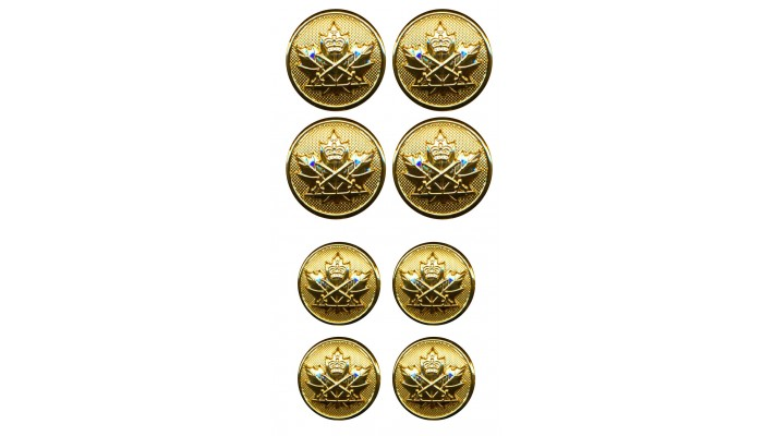 Set of army buttons- CIC branch