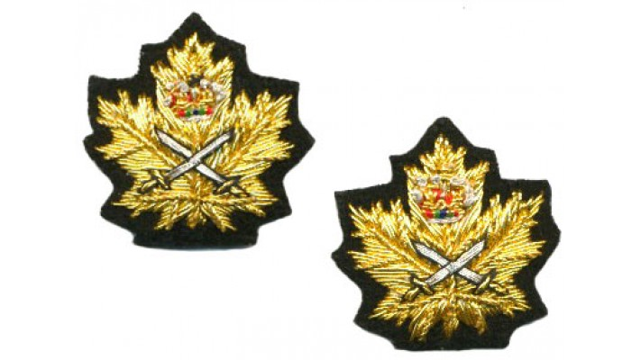 Army Collar badge for mess kit