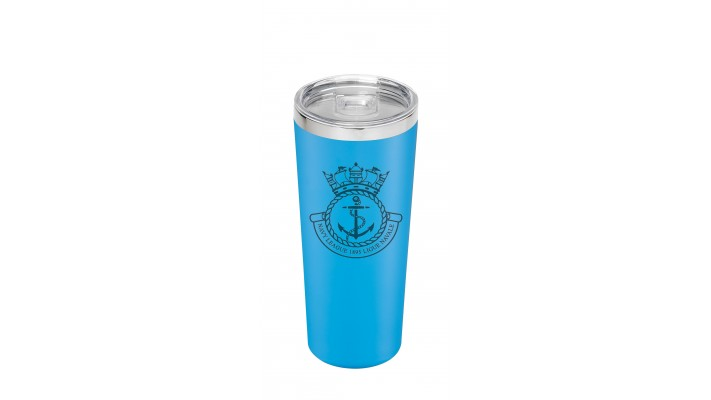 22 Oz cup with the Navy League Logo