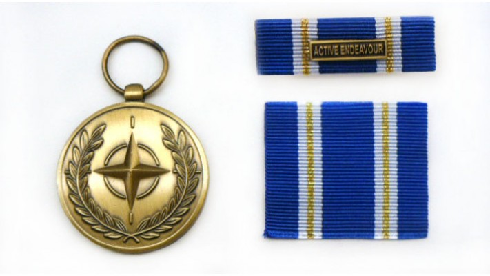 "Médaille de l'OTAN- Article 5 ""Active Endeavour"""