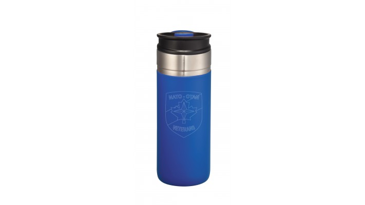 18 Oz Waterproof Cup with the NATO logo