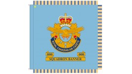 Ceremonial Royal Canadian Air Cadet Banners