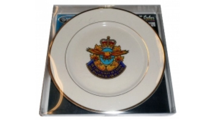 Air Cadets League crested plate