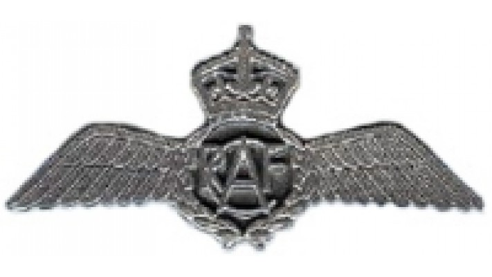 1939-1945 Pewter Pilot Wings