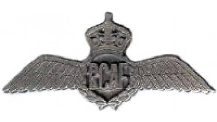 1945-1952 Pewter Pilot Wings