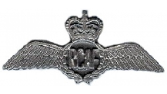 1953-1968 Pewter Pilot Wings