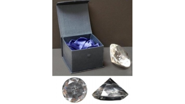 Diamond shape Crystal Paperweight