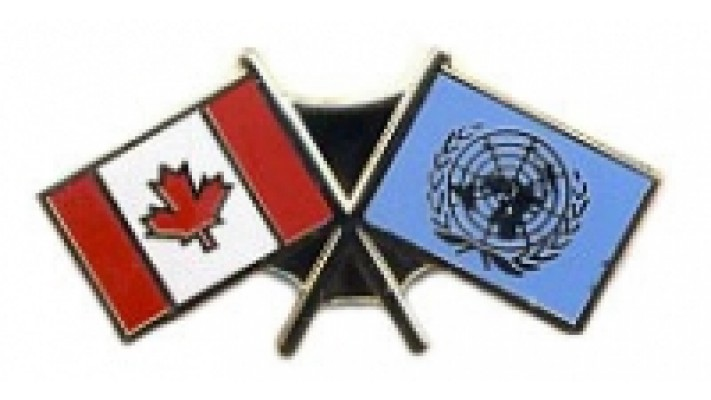 CANADA / UNITED NATIONS Lapel pin