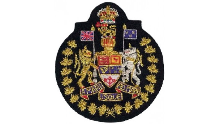 Canadian Forces Chief Warrant Officer - CFCWO-Black Felt