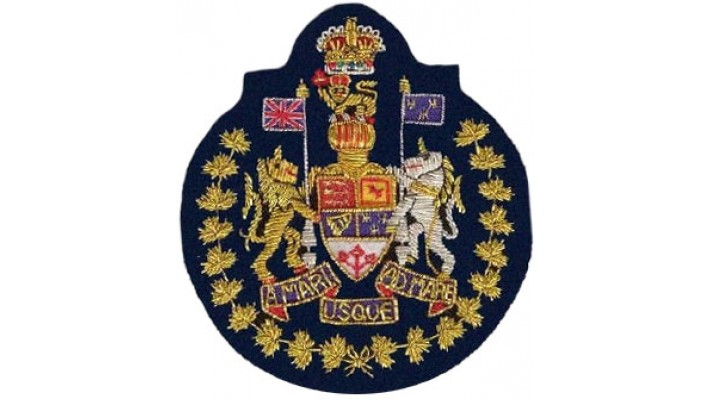 Canadian Forces Chief Warrant Officer - CFCWO-Midnight Blue Felt