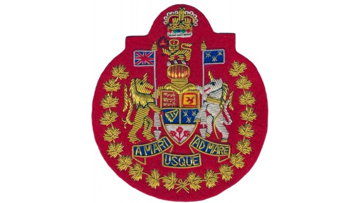 Canadian Forces Chief Warrant Officer - CFCWO-Red Felt