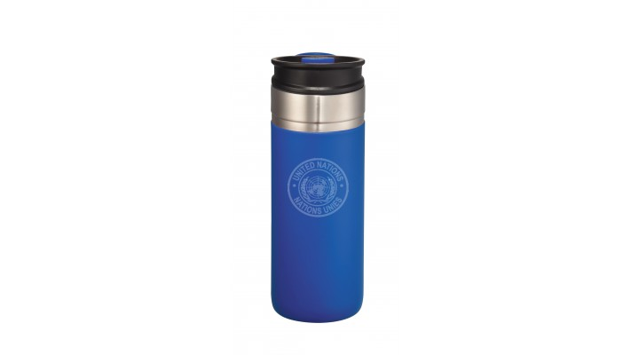 18 Oz Waterproof Cup with the United Nations logo