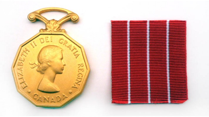 Canadian Forces' Decoration Medal