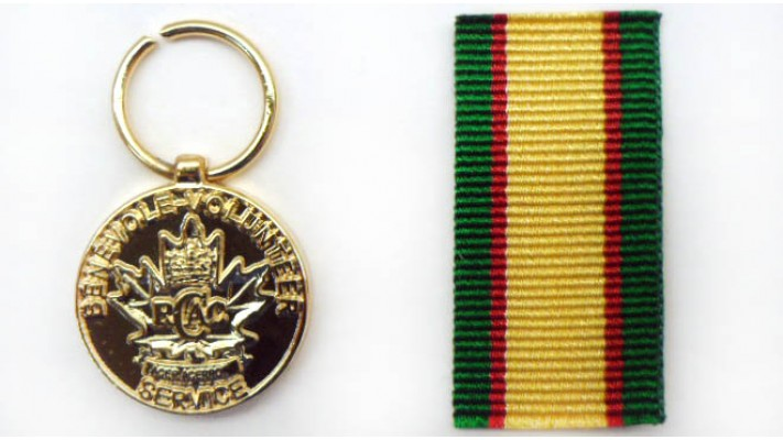Army Volunteer Miniature Medal